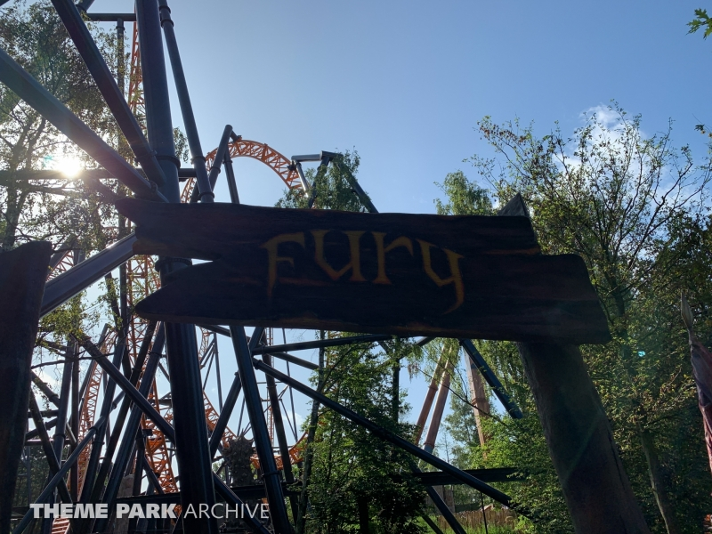 Fury at Bobbejaanland