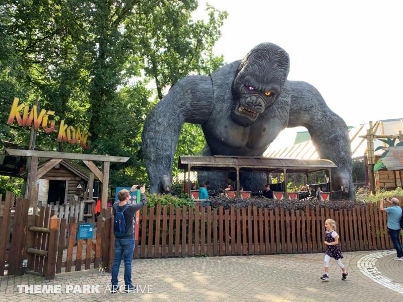 King Kong at Bobbejaanland