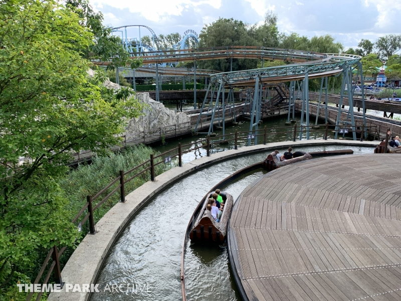 Wildwaterbaan at Bobbejaanland