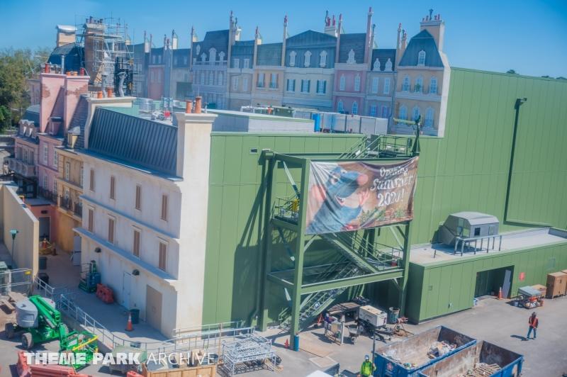 Remys Ratatouille Adventure at EPCOT
