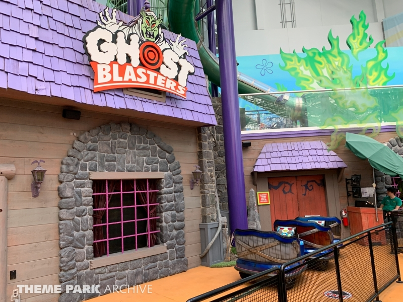 Ghost Blasters at Nickelodeon Universe at Mall of America
