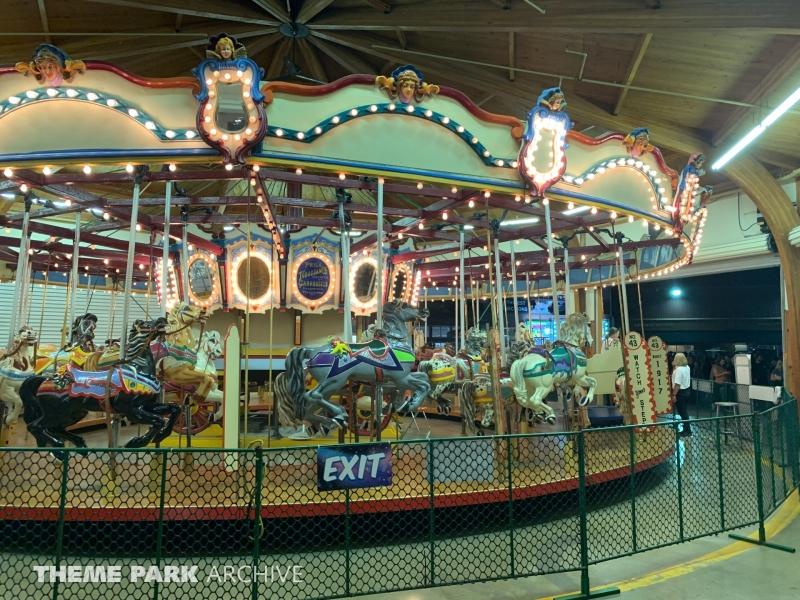 Antique Carousel at Washington State Fair
