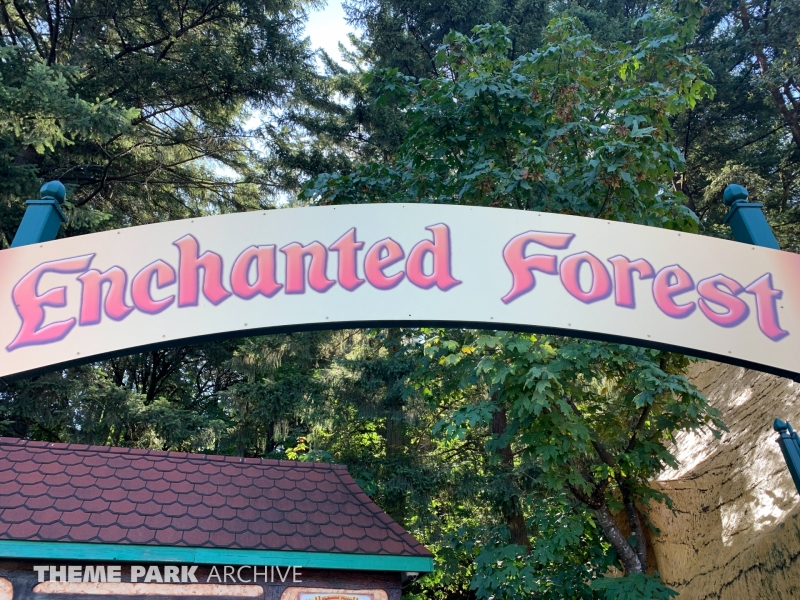Entrance at Enchanted Forest