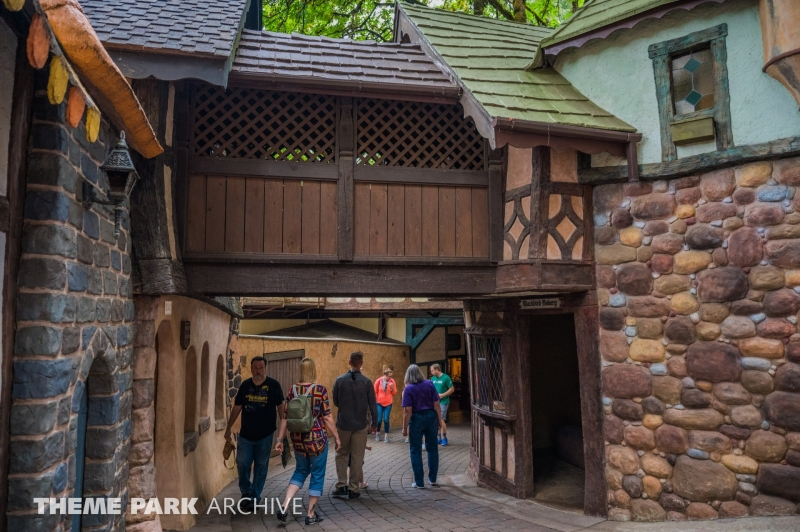 Old European Village at Enchanted Forest