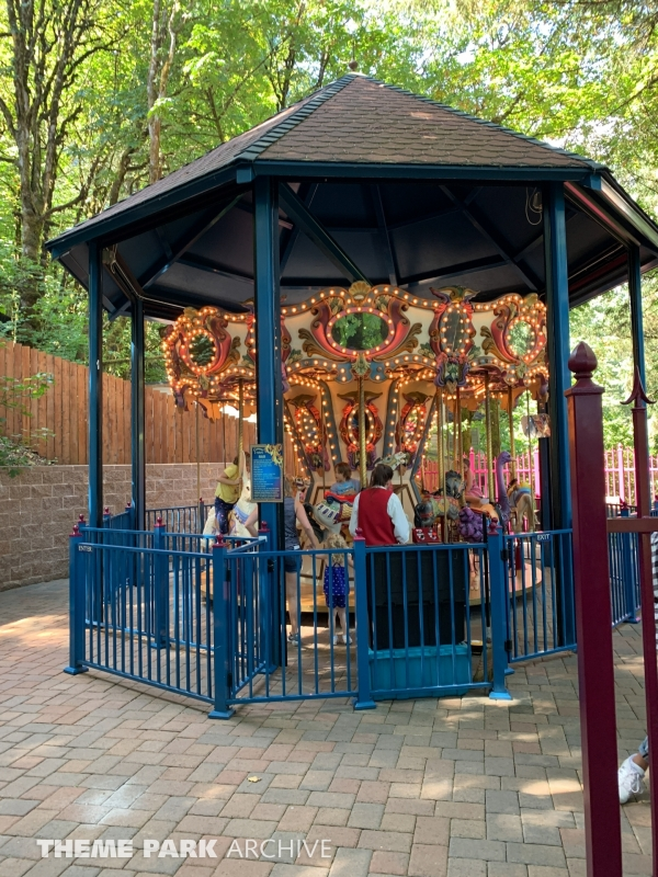 Carousel at Enchanted Forest