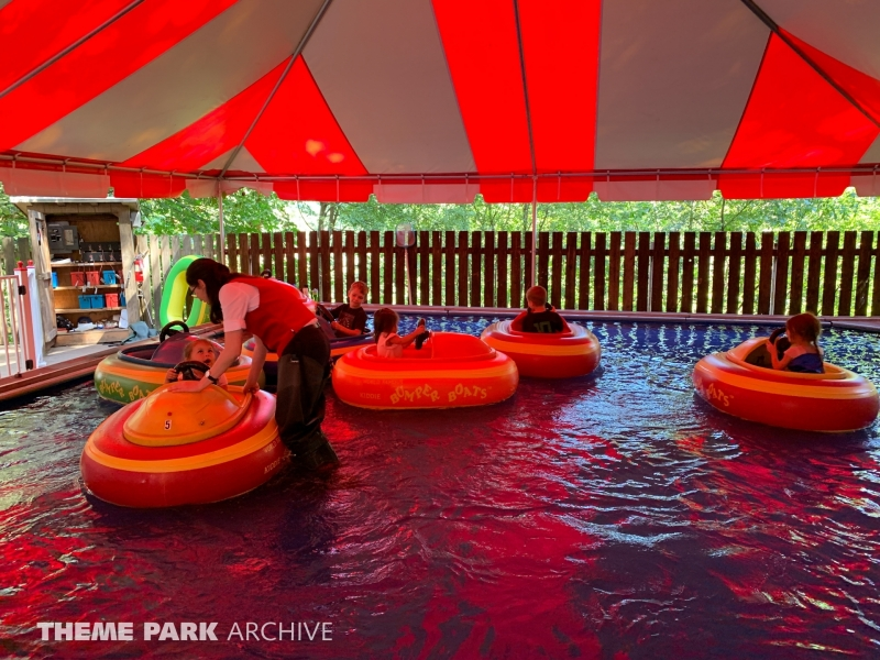 Kiddy Bumper Boats at Enchanted Forest