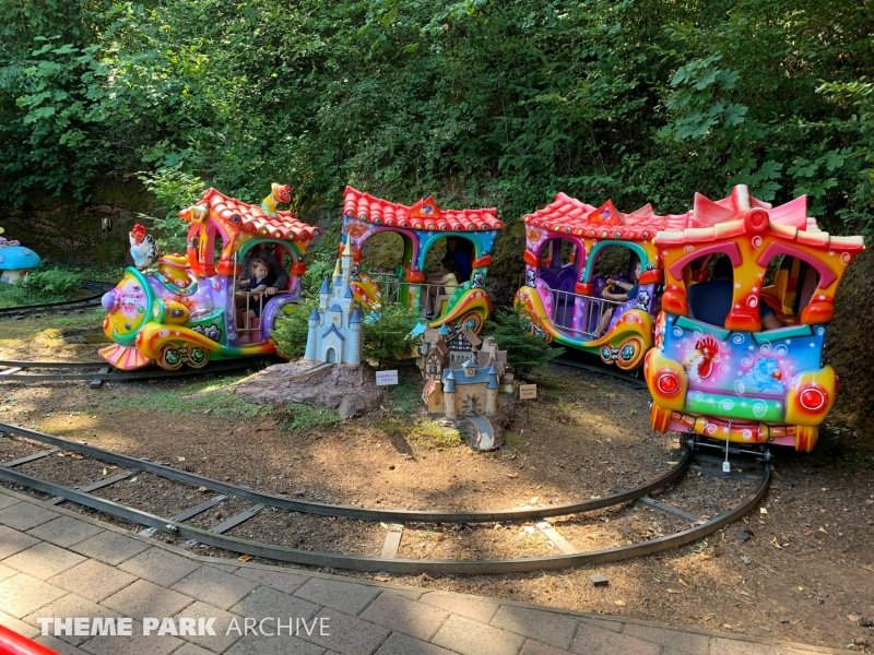 Tiny Tune Train at Enchanted Forest
