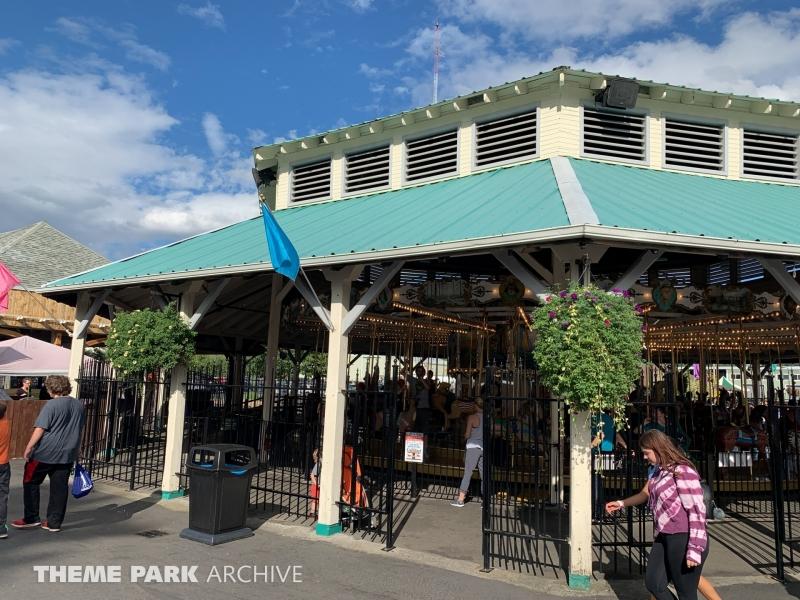 Carousel at Oaks Park