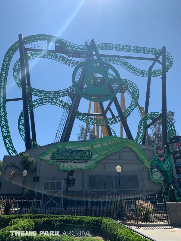 Green Lantern: First Flight at Six Flags Magic Mountain