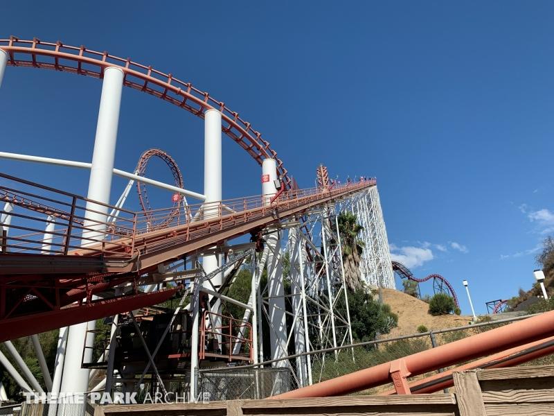 Viper at Six Flags Magic Mountain