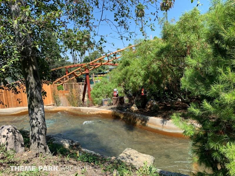 Calico River Rapids at Knott's Berry Farm