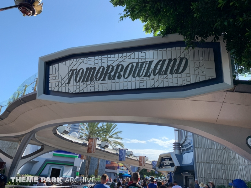 Tomorrowland at Disneyland