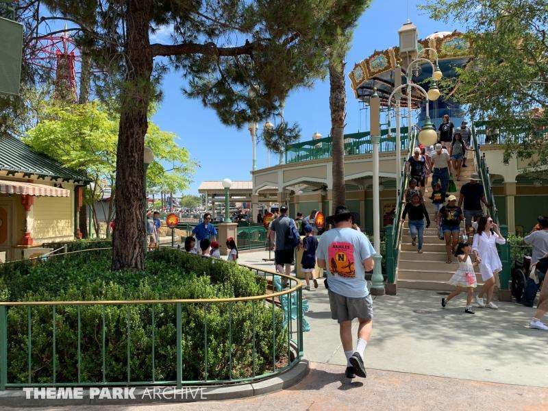 Silly Symphony Swings at Disney California Adventure