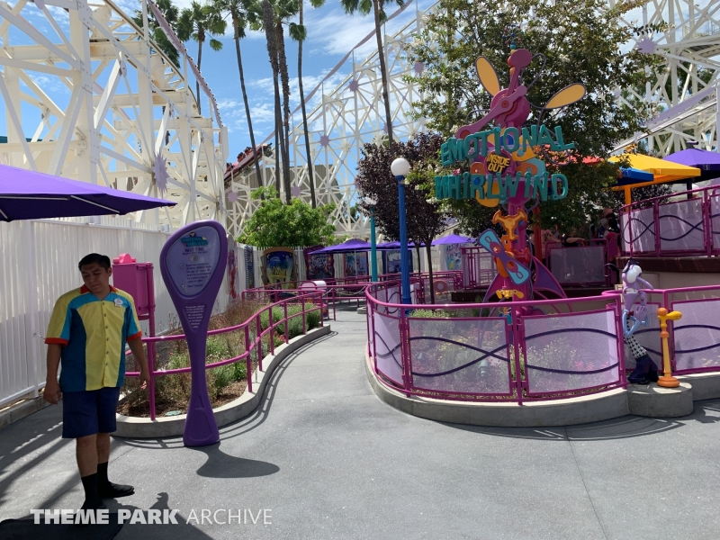 Inside Out Emotional Whirlwind at Disney California Adventure