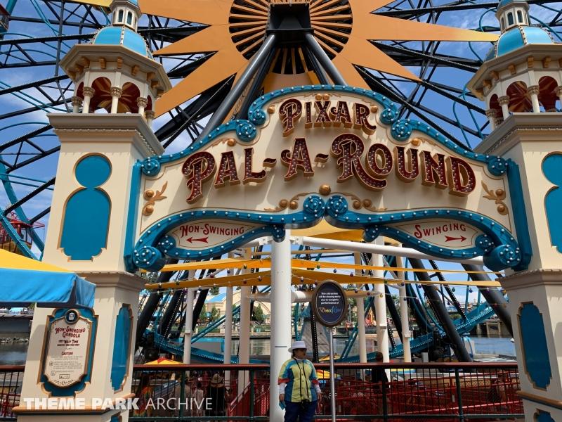 Pixar Pal A Round at Disney California Adventure
