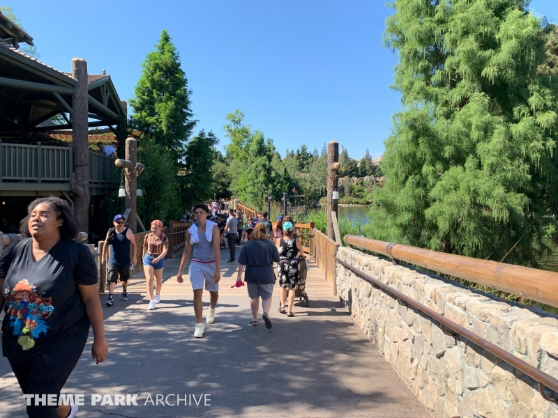 Critter Country at Disneyland