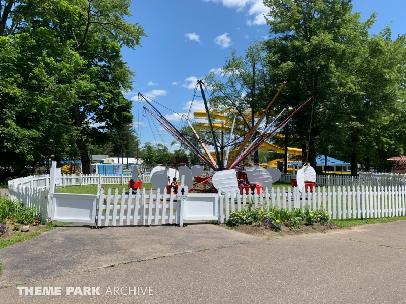 Flying Scooters at Conneaut Lake Park