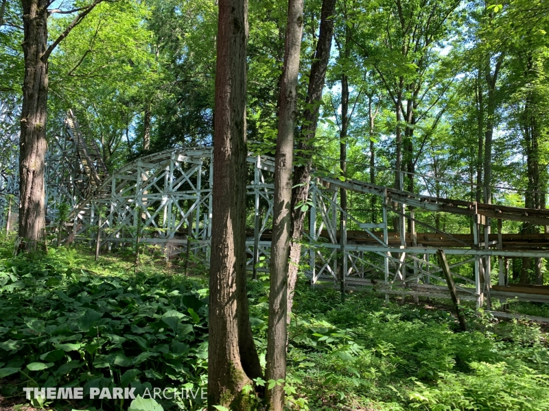 Blue Streak at Conneaut Lake Park
