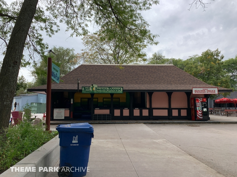 Kermitt's Bouncing Bog at Centreville Amusement Park