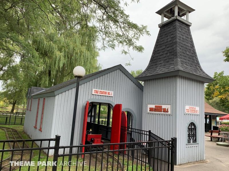 Fire Engines at Centreville Amusement Park
