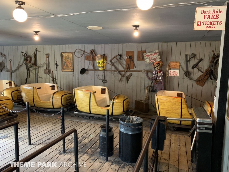 Haunted Barrel Works at Centreville Amusement Park