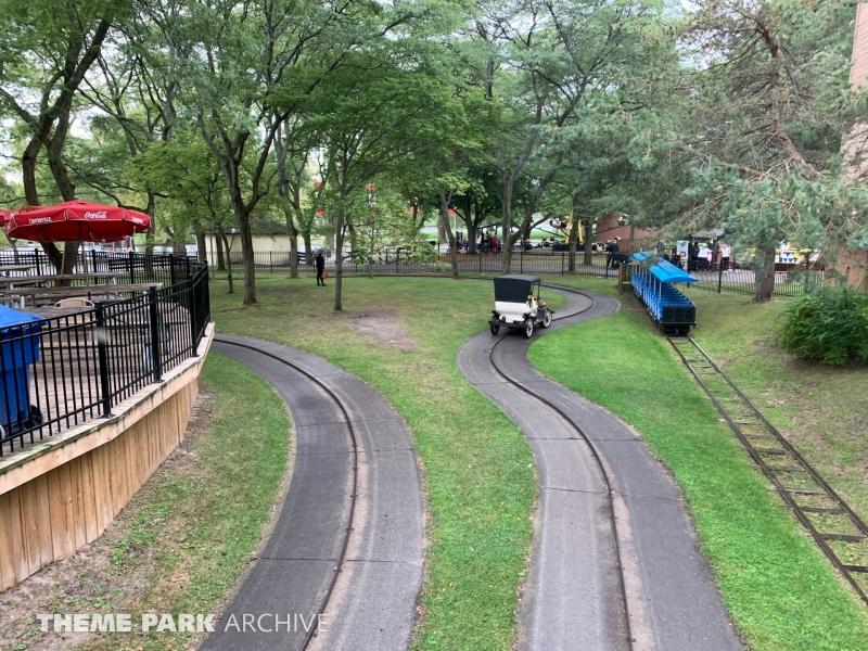 Antique Cars at Centreville Amusement Park