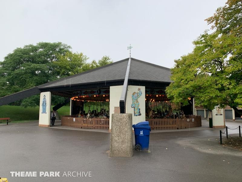 Antique Carousel at Centreville Amusement Park