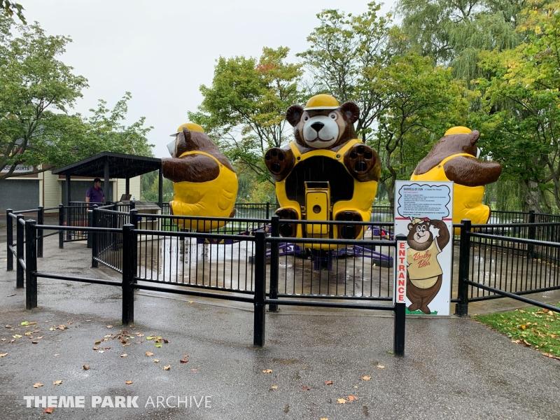 Beasley Bear Ride at Centreville Amusement Park