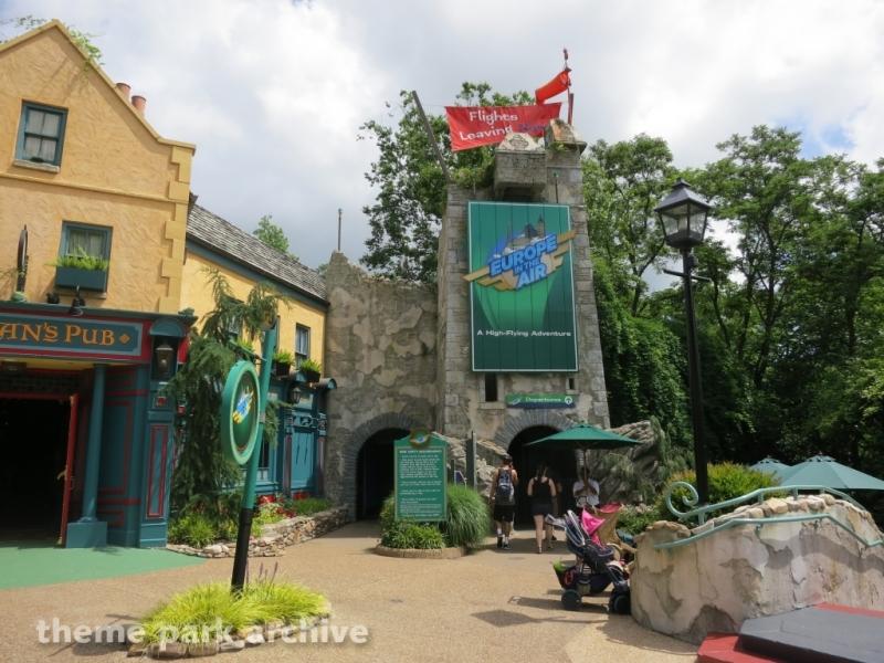 Theme Park Archive Verbolten Busch Gardens