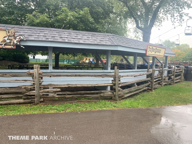 Pony Express at Centreville Amusement Park