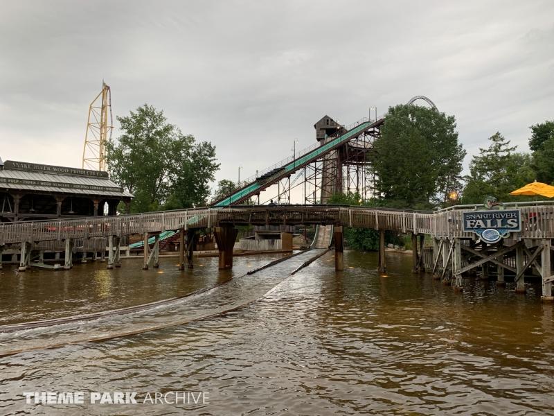 Snake River Falls at Cedar Point