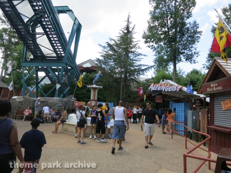 Alpengeist at Busch Gardens Williamsburg