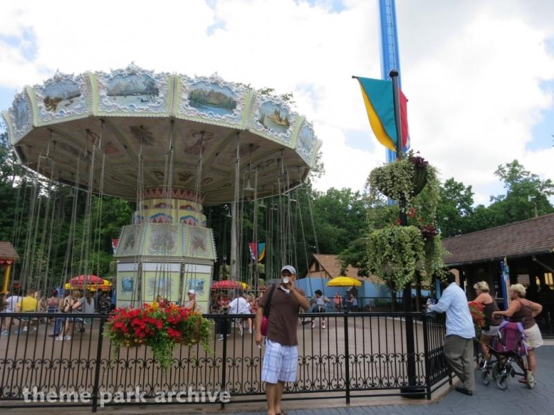 Der Wirbelwind at Busch Gardens Williamsburg