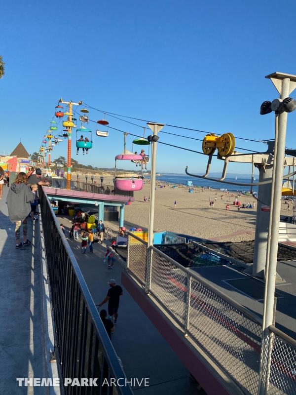 Sky Glider at Santa Cruz Beach Boardwalk