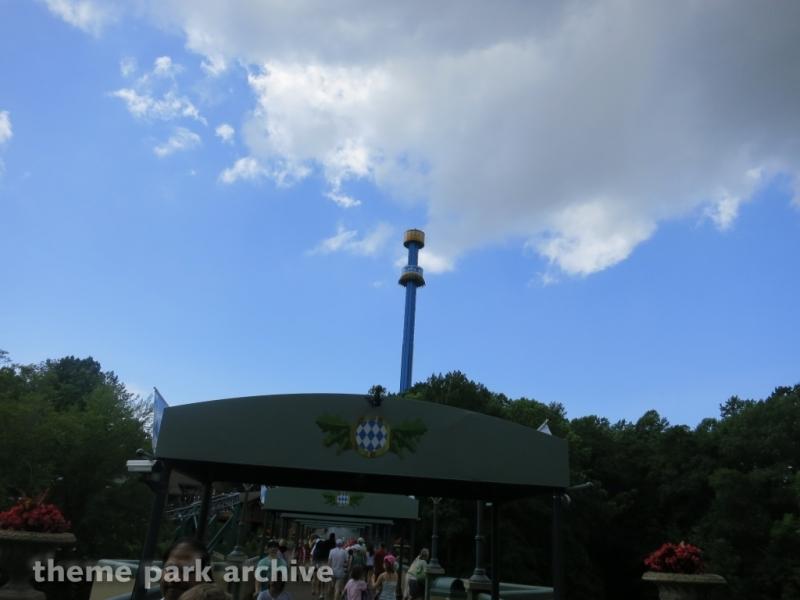 Mach Tower at Busch Gardens Williamsburg