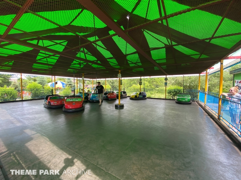Dodge'em Bumper Cars at Sluggers & Putters Amusement Park