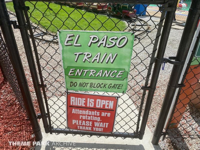 El Paso Railroad at Sluggers & Putters Amusement Park