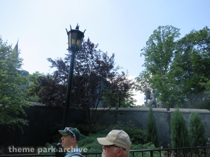 Curse of Darkastle at Busch Gardens Williamsburg