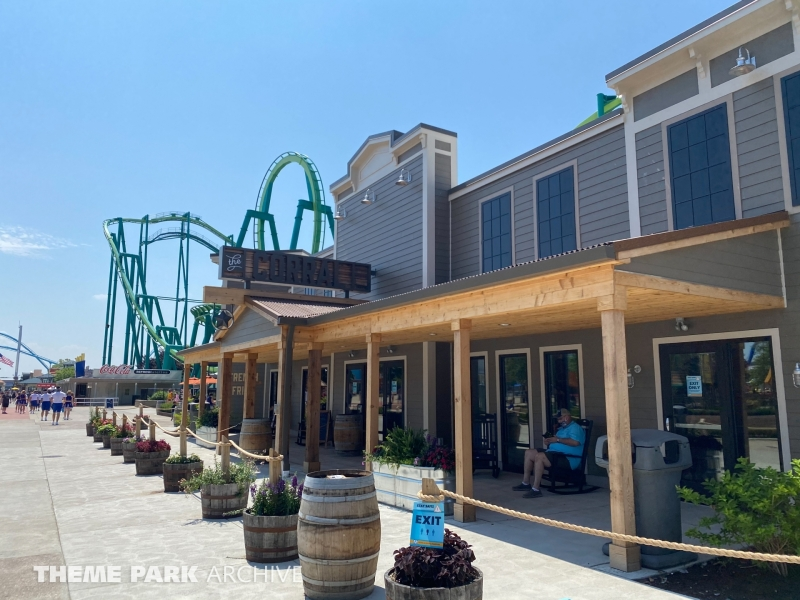 Corral at Cedar Point