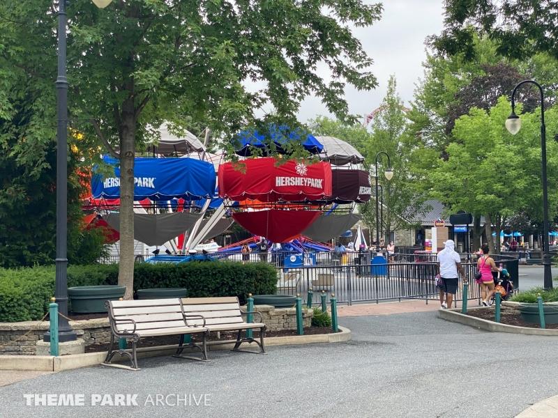 Balloon Flite at Hersheypark