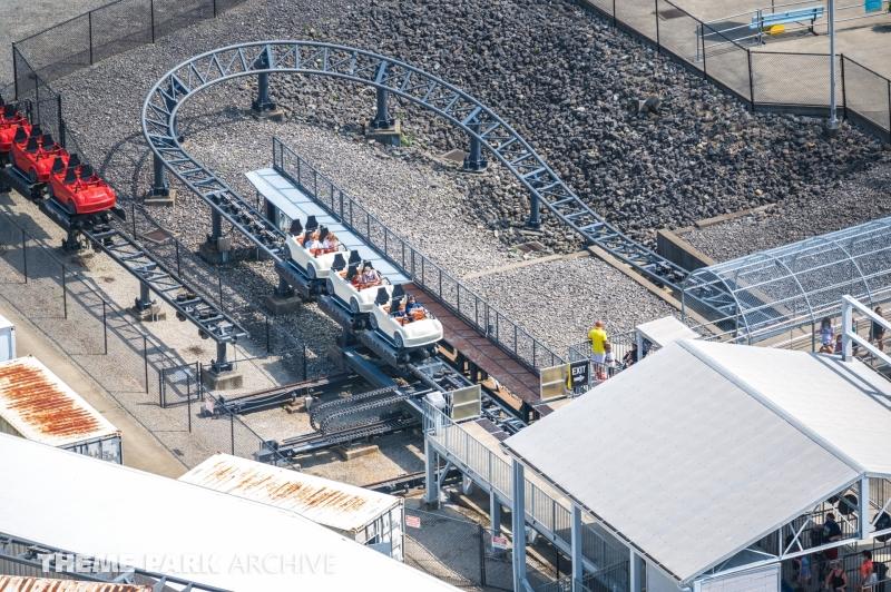Backlot Stunt Coaster at Kings Island
