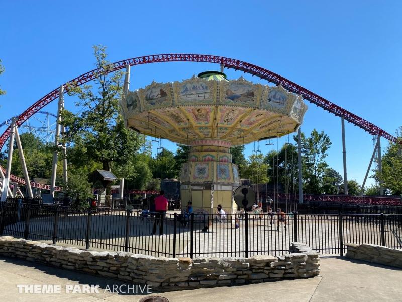 Wave Swinger at Cedar Point