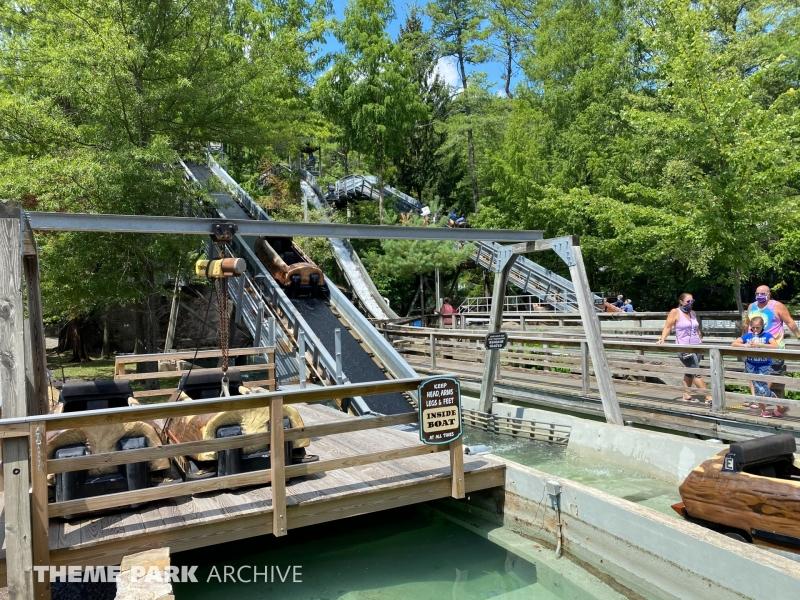 Flume at Knoebels Amusement Resort