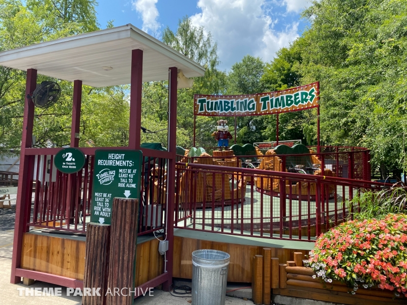 Tumbling Tumblers at Knoebels Amusement Resort