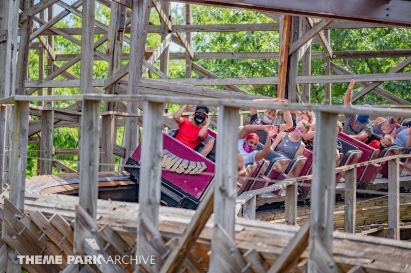 Twister at Knoebels Amusement Resort