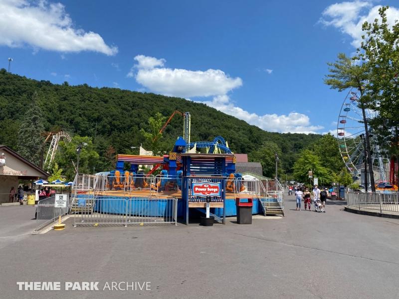 PowerSurge at Knoebels Amusement Resort