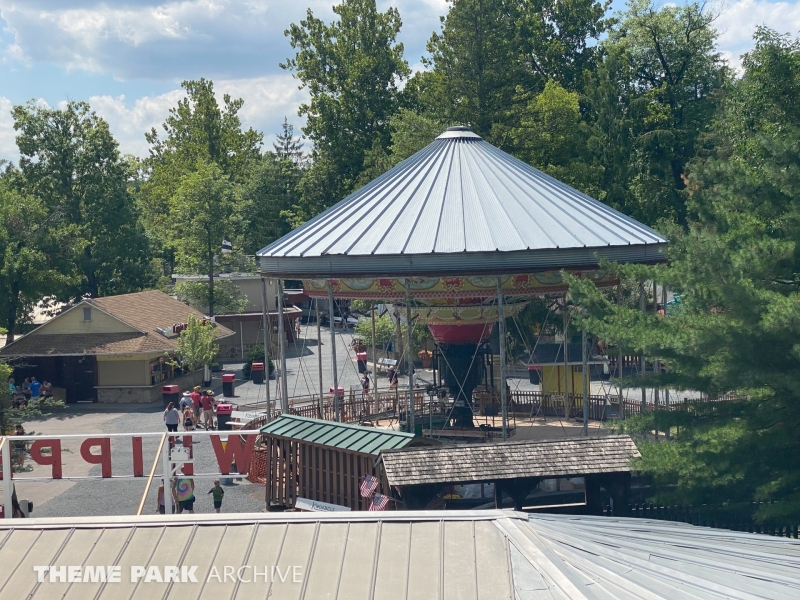 Italian Trapeze at Knoebels Amusement Resort