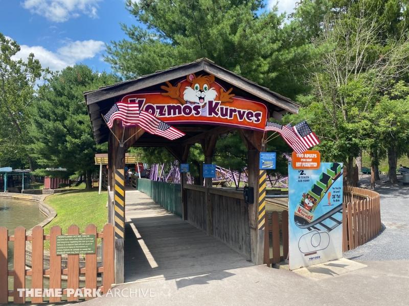 Kozmo's Kurves at Knoebels Amusement Resort