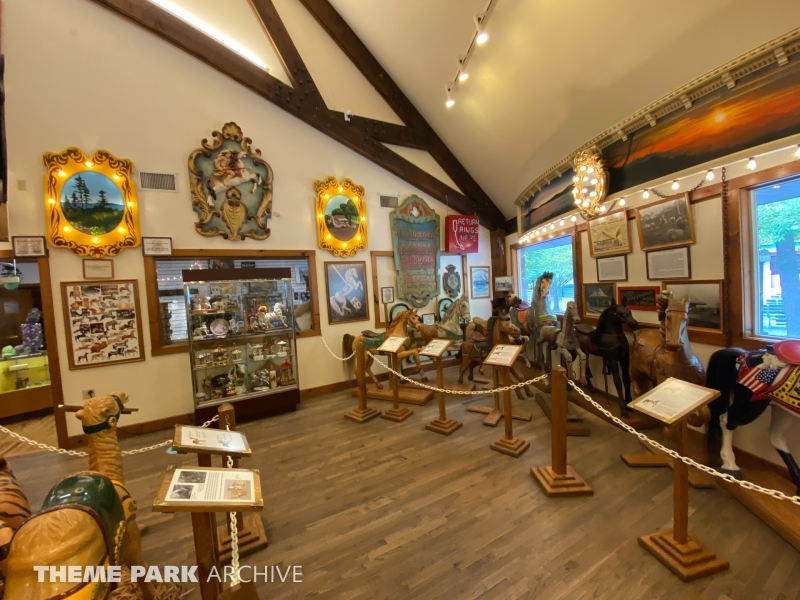 Knoebels Carousel Museum at Knoebels Amusement Resort