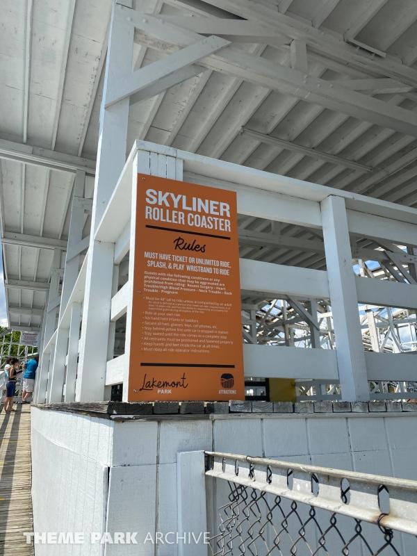 Skyliner at Lakemont Park